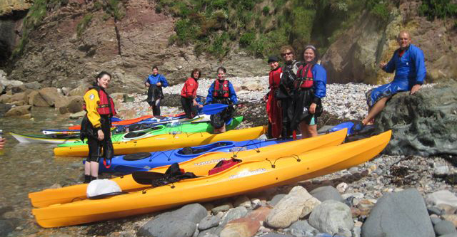 Sea Kayaking Group