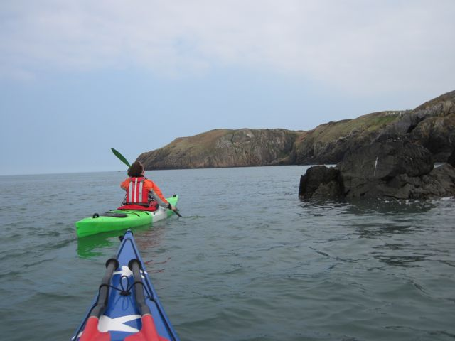 Kayaking near Cemaes